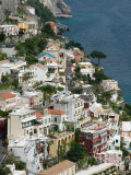Town View, Positano, Amalfi Coast, Campania, Italy Photographic Print by Walter Bibikow
