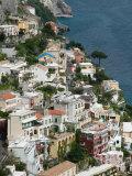 Town View, Positano, Amalfi Coast, Campania, Italy Photographic Print by Walter Bibikow