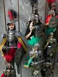Knight Puppets, Corso Umberto 1, Taormina, Sicily, Italy Photographic Print by Walter Bibikow