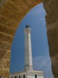 Capo Santa Maria di Leuca Lighthouse, Puglia, Italy Photographic Print by Walter Bibikow