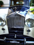 Rolls Royce at the Palace Hotel, Gstaad, Switzerland Photographic Print by Bill Bachmann