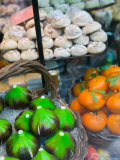 Marzipan Fruits, Corso Umberto 1, Taormina, Sicily, Italy Photographic Print by Walter Bibikow