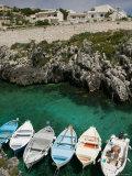 Castro Marina, Town Marina, Puglia, Italy Photographic Print by Walter Bibikow