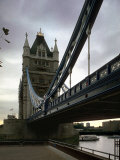 Tower Bridge, Thames River, London, England Stampa fotografica di Chuck Haney