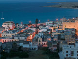 Resort Town View, San Vito Lo Capo, Sicily, Italy Photographic Print by Walter Bibikow