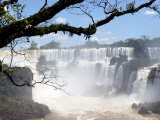 View of Iguassu Falls and Jungle, Argentina Photographic Print by Michele Molinari