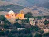 Large Dome on Steep Hillside, Guanajuato, Mexico Photographic Print by Julie Eggers