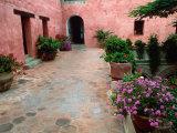 Architecture in Oaxaca, Mexico Fotodruck von Bill Bachmann