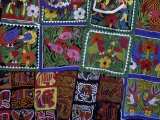 Hand-Stitched Molas, Kuna Indian, San Blas Islands, Panama Photographic Print by Cindy Miller Hopkins