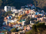 Colorful Hillside Houses, Guanajuato, Mexico Photographic Print by Julie Eggers