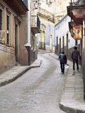 Street Scene, Guadalajara, Mexico Photographic Print by Charles Sleicher