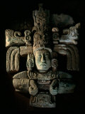 David Webser, Corn God, Royal Maya Tomb II, Sepulturas, Copan, Honduras Photographic Print by Kenneth Garrett