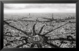 Paris, l'Etoile Vue du Ciel Art by Guillaume Plisson