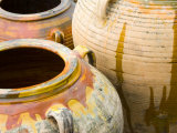 Pots on Display at Viansa Winery, Sonoma Valley, California, USA Photographic Print by Julie Eggers