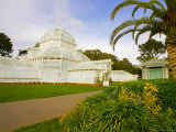 Golden Gate Park, San Francisco Conservatory of Flowers, San Francisco, California, USA Photographic Print by Julie Eggers