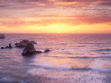Big Sur at Sunset, California, USA Photographic Print by Gavriel Jecan
