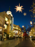The Grove Mall by Farmer's Market, West Hollywood, Los Angeles, California, USA Photographic Print by Walter Bibikow
