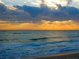 Sunrise, Silver Sands, Canaveral National Seashore, Florida Photographic Print by Lisa S. Engelbrecht