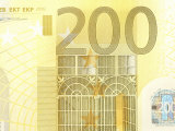 Foreign Currency of Two Hundred Euro Banknote Photographic Print