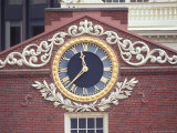 Old State House Clock, Boston, Massachusetts, USA Photographic Print by Rob Tilley