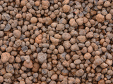 Close-up of Small Brown and Gray Pebbles Photographic Print