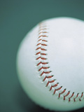 Close-up of a Baseball Photographic Print