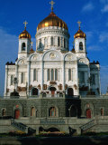 Christ the Saviour Cathedral, Moscow, Russia Photographic Print by Jonathan Smith