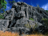 Limestone Bluff at Archways, Near Mungana Chillagoe, Queensland, Australia Photographie par Barnett Ross