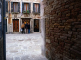 Window Shopping, Venice, Veneto, Italy Photographic Print by Brent Winebrenner