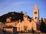 Church of St. Cosmas and Damian, Croatia Photographic Print by Wayne Walton