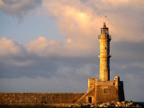 Lighthouse Built in 16th Century, Hania, Greece Photographic Print by John Elk III