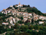 Medieval Hilltop Town, Motovun, Croatia Photographic Print by Wayne Walton