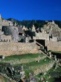 Inca City of Machu Picchu, Machu Picchu, Cuzco, Peru Photographic Print by Mark Daffey