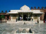 Tomb of Sheikh Salim Chisti in the Jami Masjid, Fatehpur Sikri, Uttar Pradesh, India Photographic Print by Jane Sweeney