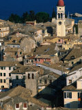 Rooftops from New Citadel, Greece Photographic Print by John Elk III