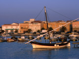 Traditional Fishing Boat at Porto Calasetta, Sant&#39; Antioco, Sardinia, Italy Photographic Print by Dallas Stribley
