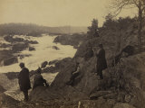 Great Falls, Potomac River, c.1864 Poster af Andrew J. Johnson