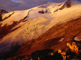 Schlaten Glacier, Grossvenediger Mountain from Neue Prager Hut, Hohe Tauren National Park, Austria Fotografisk trykk av Witold Skrypczak