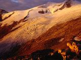 Schlaten Glacier, Grossvenediger Mountain from Neue Prager Hut, Hohe Tauren National Park, Austria Fotografie-Druck von Witold Skrypczak