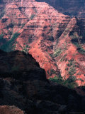 Waimea Canyon, Kauai, Hawaii, USA Photographic Print by Lawrence Worcester