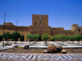 Museum of Riyadh, Riyadh, Saudi Arabia Photographic Print by Tony Wheeler