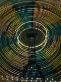 Lights of the Ferris-Wheel at the Royal Melbourne Agricultural Show, Melbourne,Victoria, Australia Photographic Print by Dallas Stribley