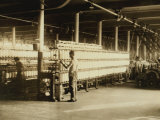 View in Lonsdale, Rhode Island Mills, c.1912 Posters by Lewis Wickes Hine
