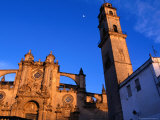 The 18th Century Cathedral with Its 15th Century Belltower Set Slightly Apart, Spain Photographic Print by Oliver Strewe