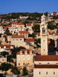 Old Town Buildings, Lozisca, Croatia Photographic Print by Wayne Walton