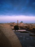 Clouds Over Old Town, Uzbekistan Photographic Print by Martin Moos