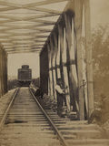 Military Railroad Operations in Northern Virginia, c.1862 Photographie par Andrew J. Johnson