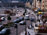 Traffic on Quai Henri IV, Dieppe, France Photographic Print by Charlotte Hindle