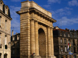 Classical Gate to City, Bordeaux, France Photographic Print by Wayne Walton