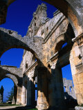 Ruins of 5th Century Byzantine Church of St. Simeon, Aleppo, Syria Photographic Print by Mark Daffey